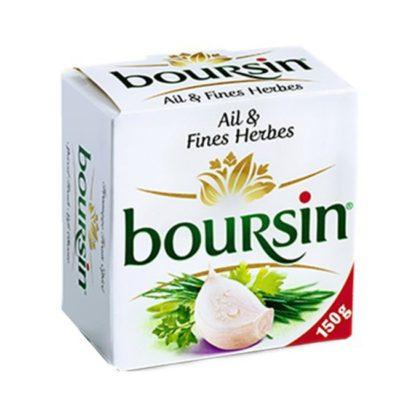 גבינת בורסאן שום ועשבי תיבול